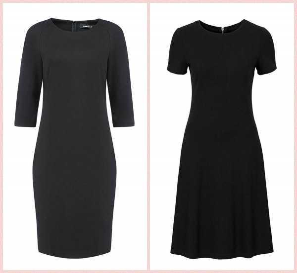 Базовые чёрные платья
