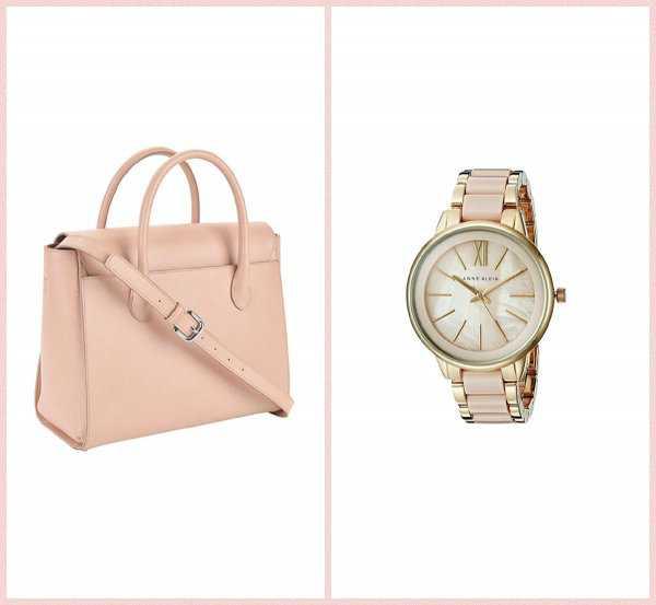 Базовая сумка и часы