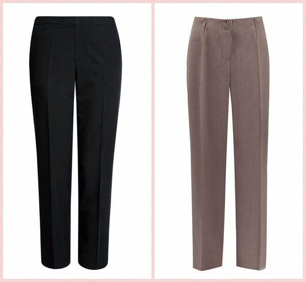 Базовые прямые брюки
