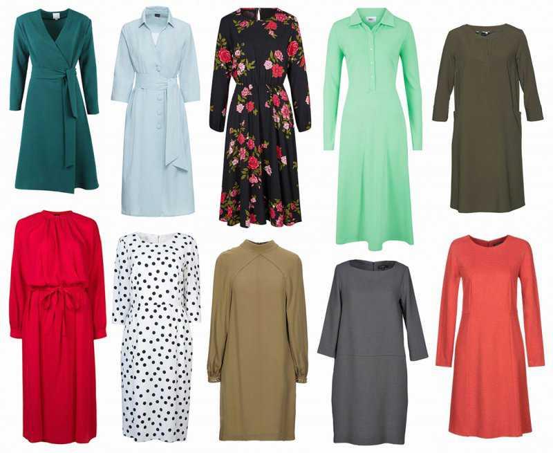Примеры платьев после 70 лет