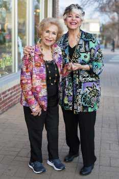 Стильные женщины в возрасте: фото 9