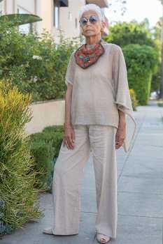 Стильная женщина в возрасте: фото 12