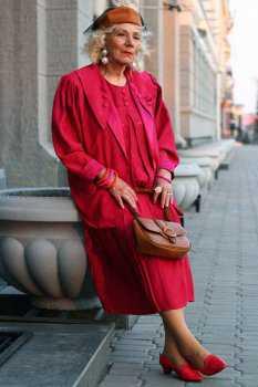 Российская пожилая женщина: фото 4