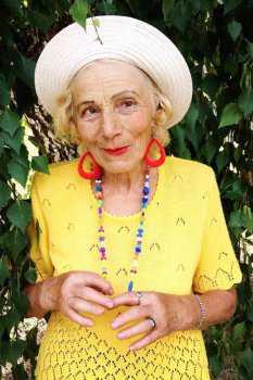 Российская пожилая женщина: фото 5