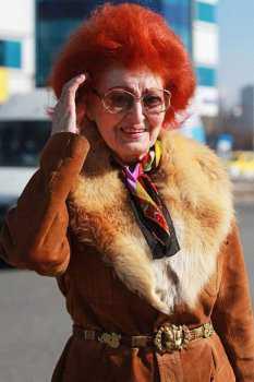Российская пожилая женщина: фото 9