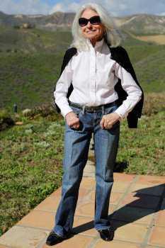 Как одеваться после 70: фото 5