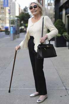 Как одеваться после 70: фото 6
