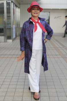 Как одеваться после 70: фото 12