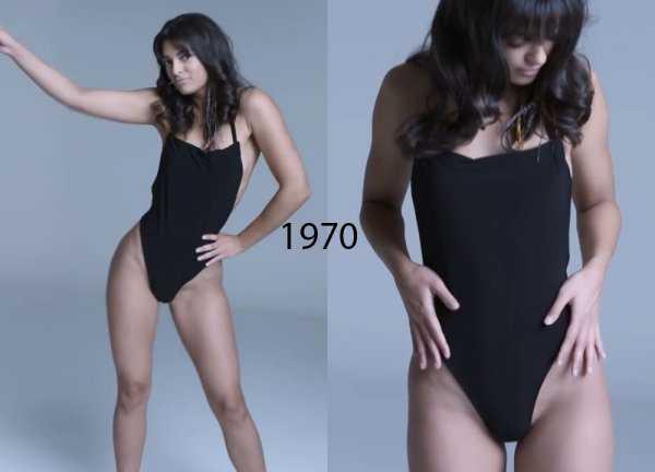 Женское бельё 1970 годов