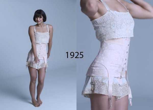 Женское бельё 1920 годов